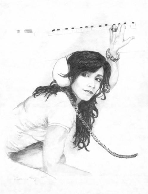 Gwen Snyder- Pencil Portrait 2007- Private Collection